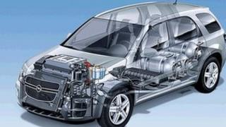 Opel hydrogen car graphics