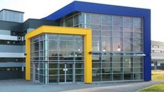 New frontage to Huntingdonshire Regional College