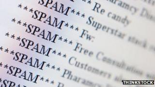 Spam graphic