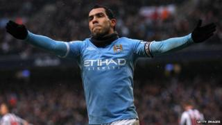 Carlos Tevez is in talks with French team PSG