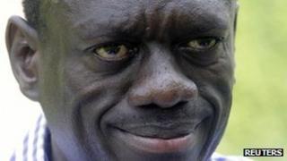 Kizza Besigye, leader of Uganda's Forum for Democratic Change