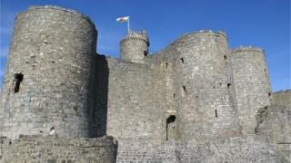 Harlech Castle, Harlech, Gwynedd