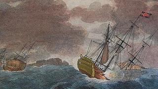 Print of HMS Victory