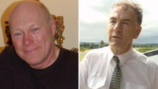 Steve Carr [L] and Bob Jones