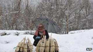 Srinagar on January 19, 2012