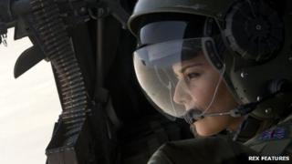 Cheryl Cole in Afghanistan, 2011