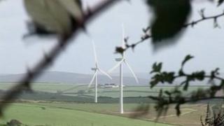 Turbines at Fullabrook