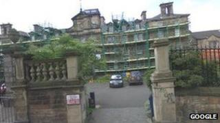 Edinburgh University building Pic: Google