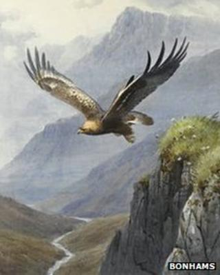The Take Off by John Cyril Harrison
