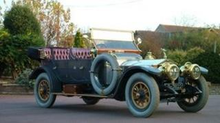 The 101-year-old Rolls Royce Silver Ghost