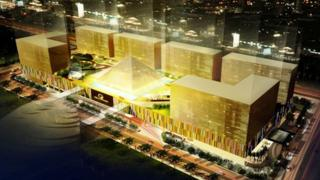Artist's impression of the Belle Grande, one of the new resorts being built in Manila Bay