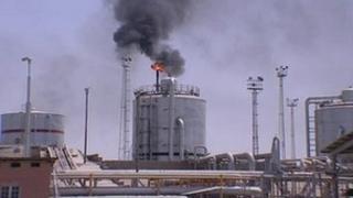 Iranian oil refinery