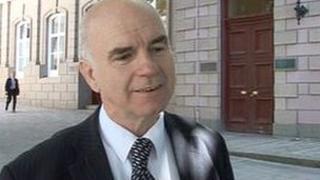 Housing Minister Deputy Andrew Green