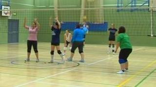 Volleyball in Jersey