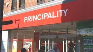 The Principality Building Society in Wrexham