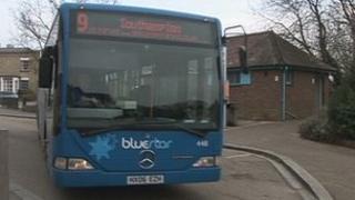 Bluestar buses
