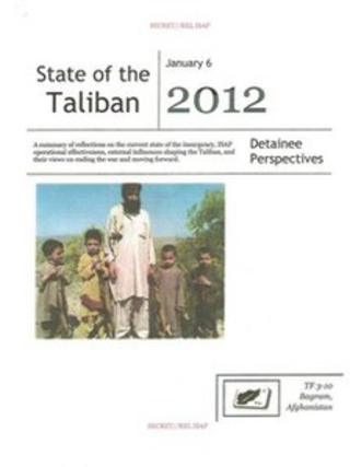 Front page of the report