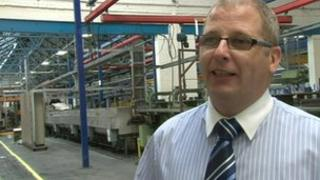 Erasteel Managing Director Ashley Baker