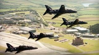 Culdrose base (Picture: Royal Navy)