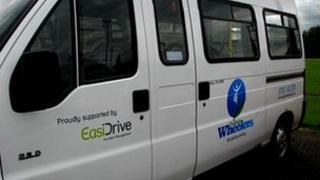 Trafford Wheelers minibus