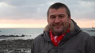 Phil Cox on Belle Greve Bay