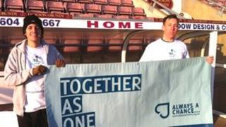 Joe Hallett and Paul Davies