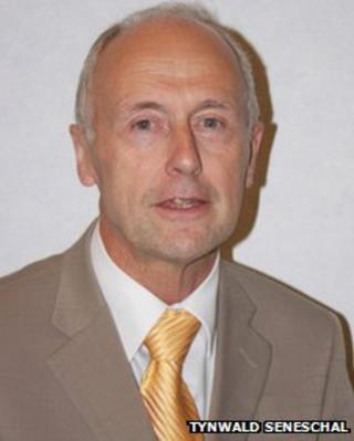 Treasury Minister Eddie Teare