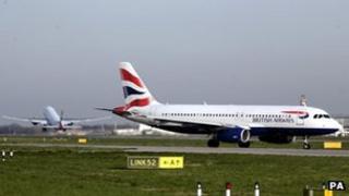 BA aircraft at Heathrow