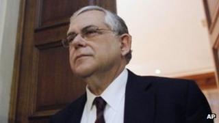 Greek Prime Minister Lucas Papademos. Photo: 5 February 2012