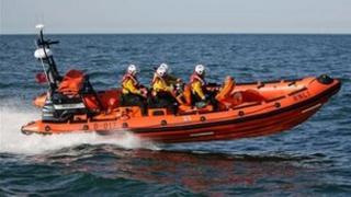 Sunderland RNLI Atlantic 85 lifeboat. Photo: Adrian Don