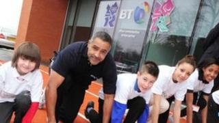 Daley Thompson opens Providence Place