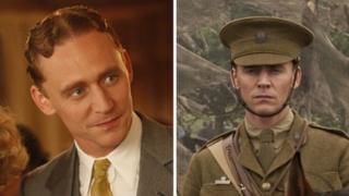 Tom Hiddleston in Midnight in Paris and War Horse