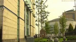 The trial is being held at Belfast Crown Court