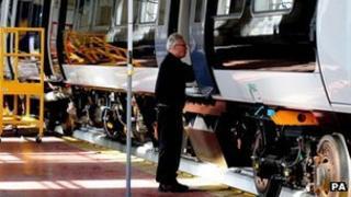 Bombardier worker