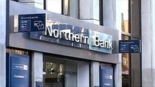 Northern Bank sign