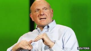 Microsoft's Steve Ballmer