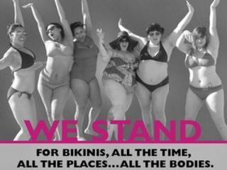 women in bikinis