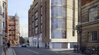 Artist impression of how St James Theatre will look