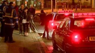 Bangor taxi wardens