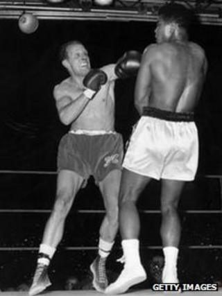 Henry Cooper and Muhammad Ali