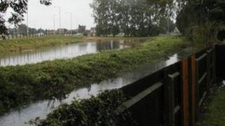 Flooding in Kirkley, 2006