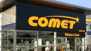 A Comet superstore