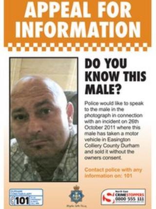 Durham Police poster