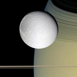 Dione NASA/JPL/Space Science Institute