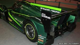 Lola-Drayson car