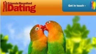 Friends Reunited Dating website