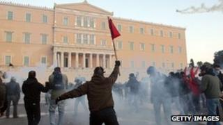 Athens clashes