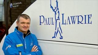 Paul Lawrie and new coach named after him