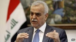 Iraqi Vice-President Tariq al-Hashemi. File photo