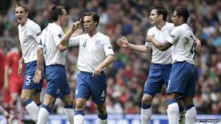 England against Wales